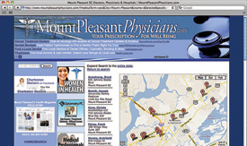 MountPleasantPhysicians.com - Sample Doctor Search Results