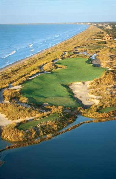 Kiawah's Ocean Course Aerial of 15