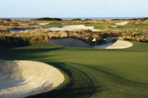 Kiawah's Ocean Course Holes 4 and 5.