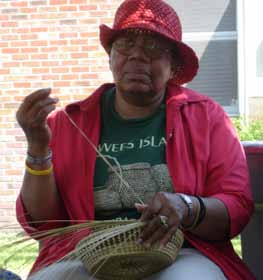 Sweetgrass Basket Maker