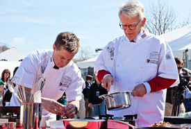 Mayor Joseph P. Riley, Jr. -and- Bryan Voltaggio, Top Chef contestant