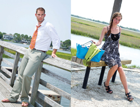 Mount Pleasant Fall Fashion, Pitt Street Bridge