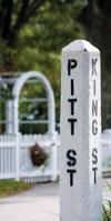 Pitt Street sign