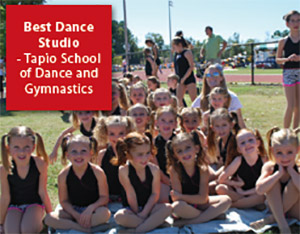 Best Dance Studio: Tapio School  of  Dance and Gymnastics