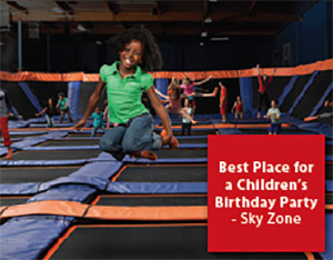 Best Place for a Children's Birthday Party: Sky Zone