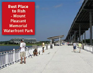 Best Place to Fish: Mount Pleasant Memorial Waterfront Park