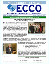 Autumn 2013 ECCO Newsletter