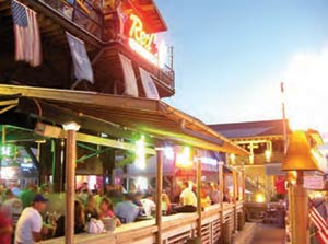 Red's Ice House on Shem Creek in Mount Pleasant, SC