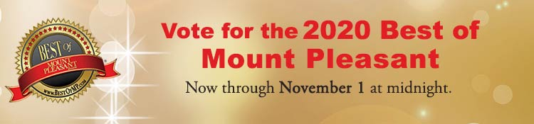 Vote in the 2020 Best of Mount Pleasant