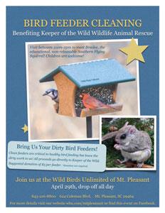Wild Birds Unlimited Feeder fundraiser