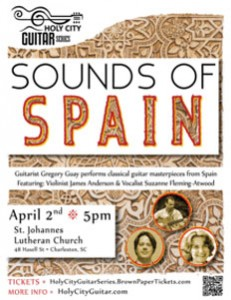 Holy City Guitar Series: Sounds of Spain