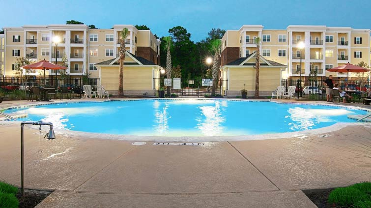 Rental apartment luxury: Gregorie Ferry Landing