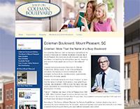 ECON Website: Coleman Boulevard