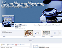 ECON Facebook Website: Mount Pleasant Physicians
