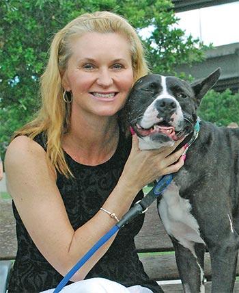 Faith Blackburn's Louis the Dog