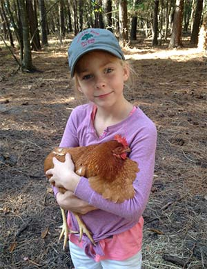 Brownie the Chicken, Mary Morgan - East Cooper Pets