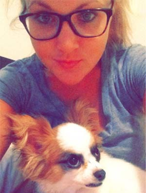Foxy the Papillon, Julie Cox - East Cooper's Favorite Pets