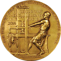 2014 Pulitzer Gold Medal award
