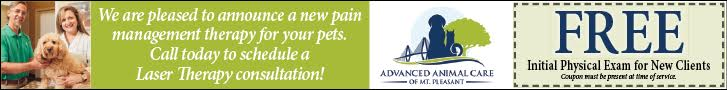 Advanced Animal Care - pleased to announce new pain therapy for your pets
