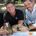 Owners Joe Sciortino, David Clark and Andy Palmer look forward to the future of SOL Southwest Kitchen & Tequila Bar.