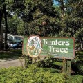 Hunters Trace neighborhood sign, Mount Pleasant. Photo by Denise K. James