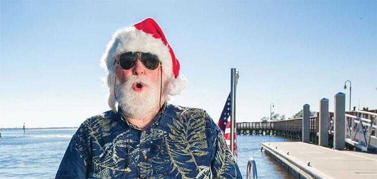 Santa the Snowbird