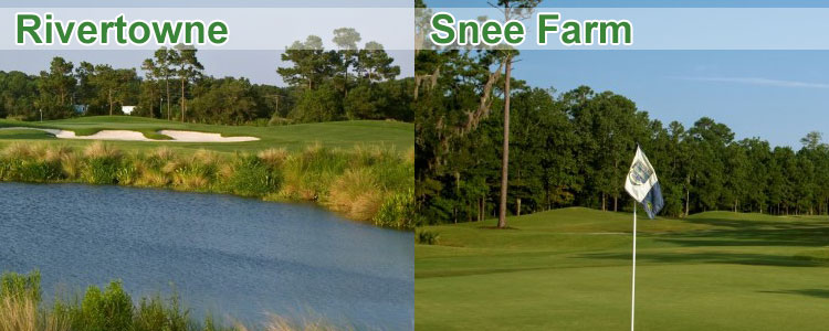 Snee Farm and Rivertowne Golf Courses