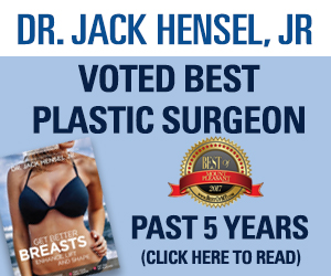 Dr Jack Hensel, Voted Best Plastic Surgeon Past 5 Years