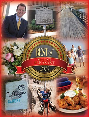 Best of Mount Pleasant 2013 Magazine Cover