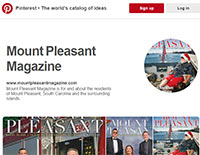 ECON Pinterest Page: Mount Pleasant Magazine