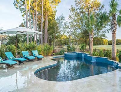 Pool by Atkinson Pools and Spas