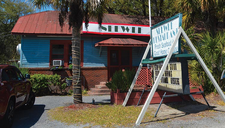See Wee Restaurant Awendaw. Call 843-928-3609