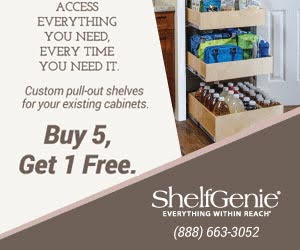 ShelfGenie Pull Out Shelves - Kitchen, Pantry, Bath...