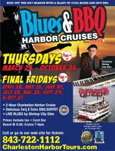 Blues & BBQ Harbor Cruise @ Charleston City Marina | Charleston | South Carolina | United States