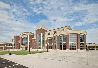 McKnight Construction Company helped build the Dorman High School and Early College Career Center in Spartanburg.