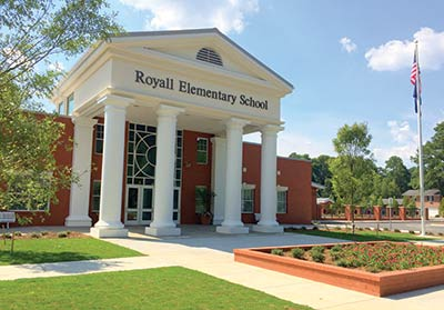 McKnight Construction Company completed work on Royall Elementar y School in Florence, South Carolina.