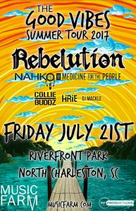 Rebelution @ North Charleston River Front Park | North Charleston | South Carolina | United States