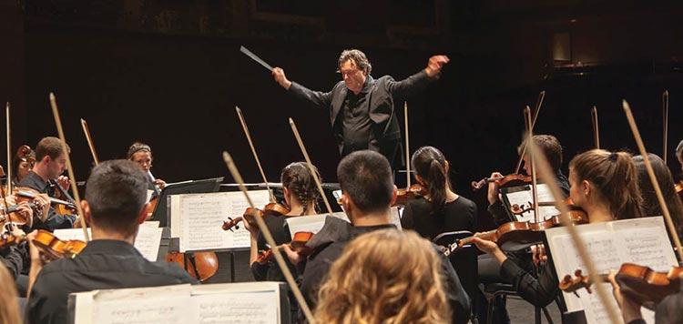 The Spoleto Festival USA orchestra