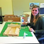 A Model Student: Wando Student Helped Bring Town Hall to Life