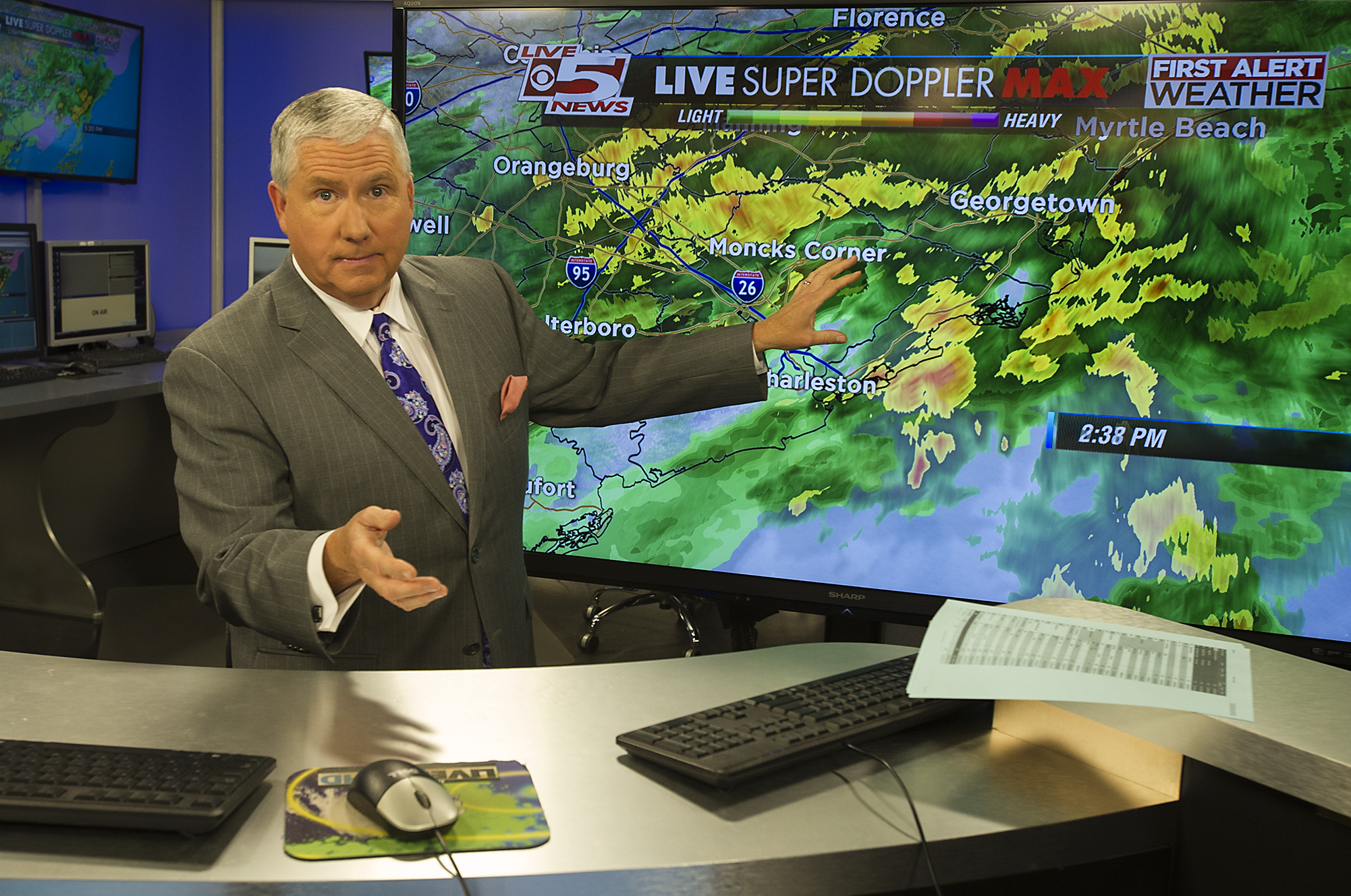 Rain Or Shine A Chat With Local Weathermen Mount