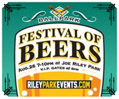 Ballpark Festival of Beers @ Joseph P. Riley Jr. Park | Charleston | South Carolina | United States