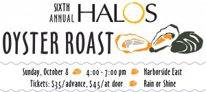 6th Annual HALOS Oyster Roast @ Harborside East | Mount Pleasant | South Carolina | United States