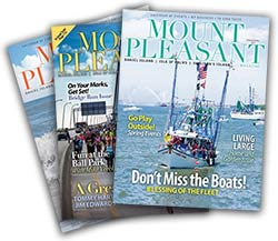 Mount Pleasant Magazine covers