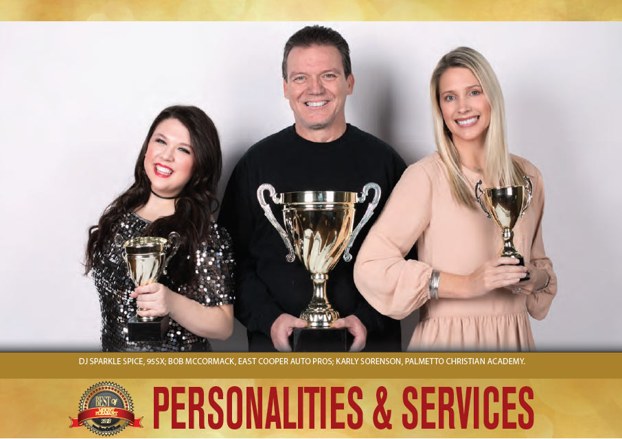 Best of Mount Pleasant 2018 - Personalities & Services