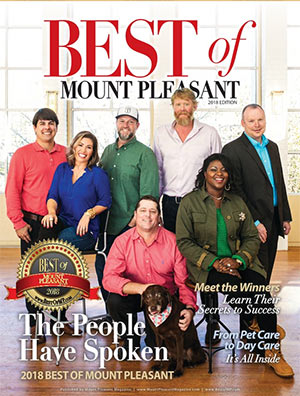Best of Mount Pleasant 2018 Magazine Cover