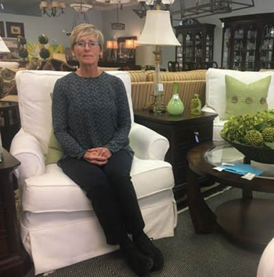 Catherine Moorehead Owner, Next to New Consignments
