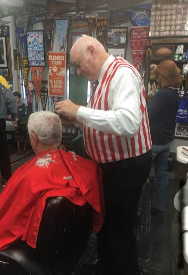 Danny Causey Owner, Causey's Barber Shop