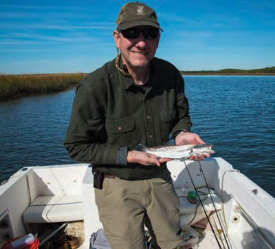 Inshore fishing in the Lowcountry is a year-round venture for Michael Cochran.