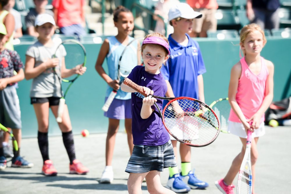 The South Carolina Junior Tennis Foundation participants