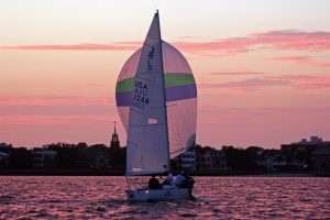 Photo of a sailboat - sailing requires time, talent and resources